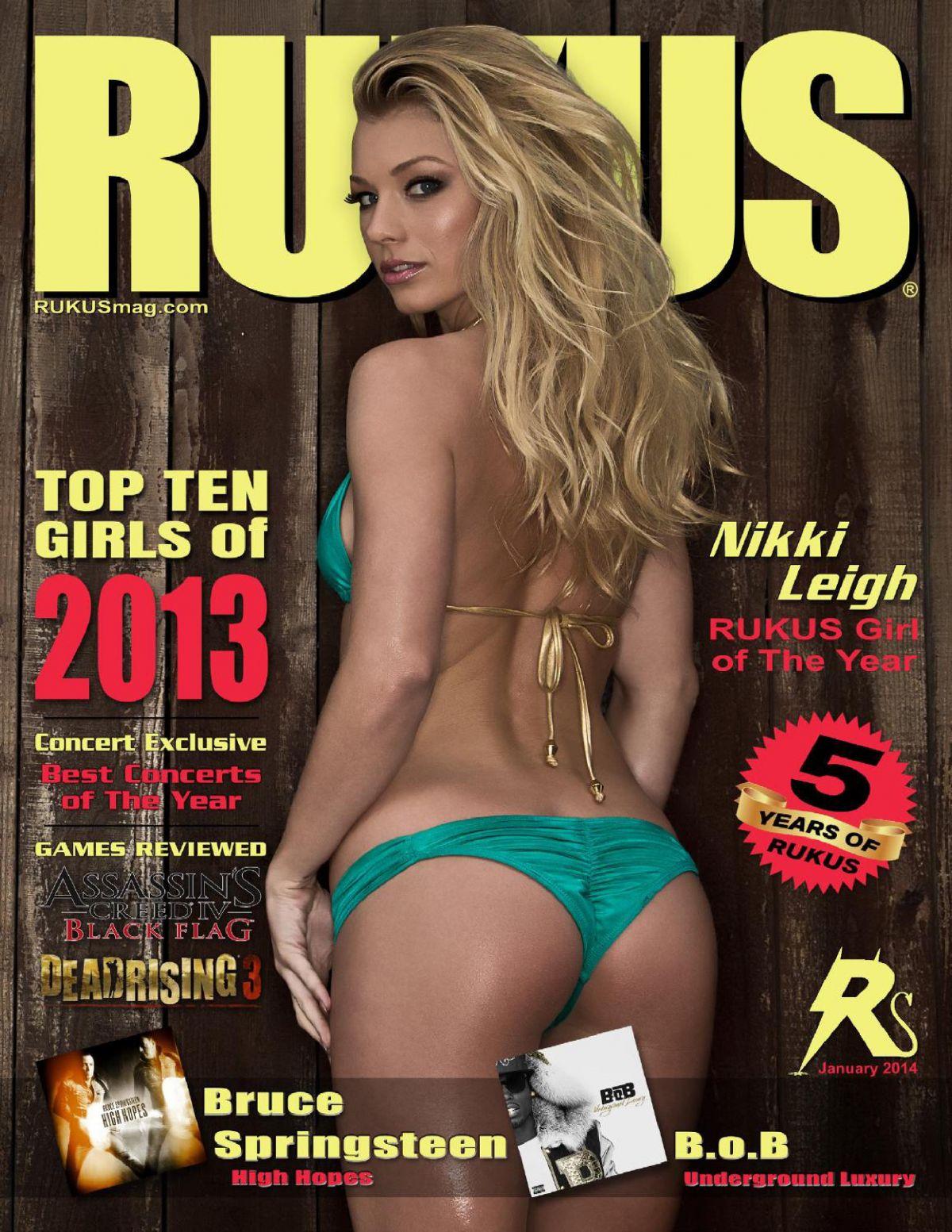 NIKKI LEIGH in Rukus Magazine, January 2014 Issue