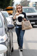 OLIVIA WILDE Grabs a Coffee to go While Out in Los Angeles