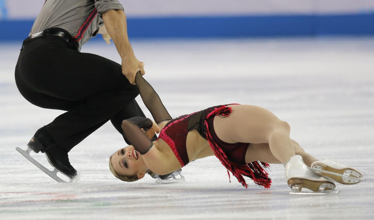 PAIGE LAWRENCE and Rudi Swiegers at 2014 Winter Olympics in Sochi