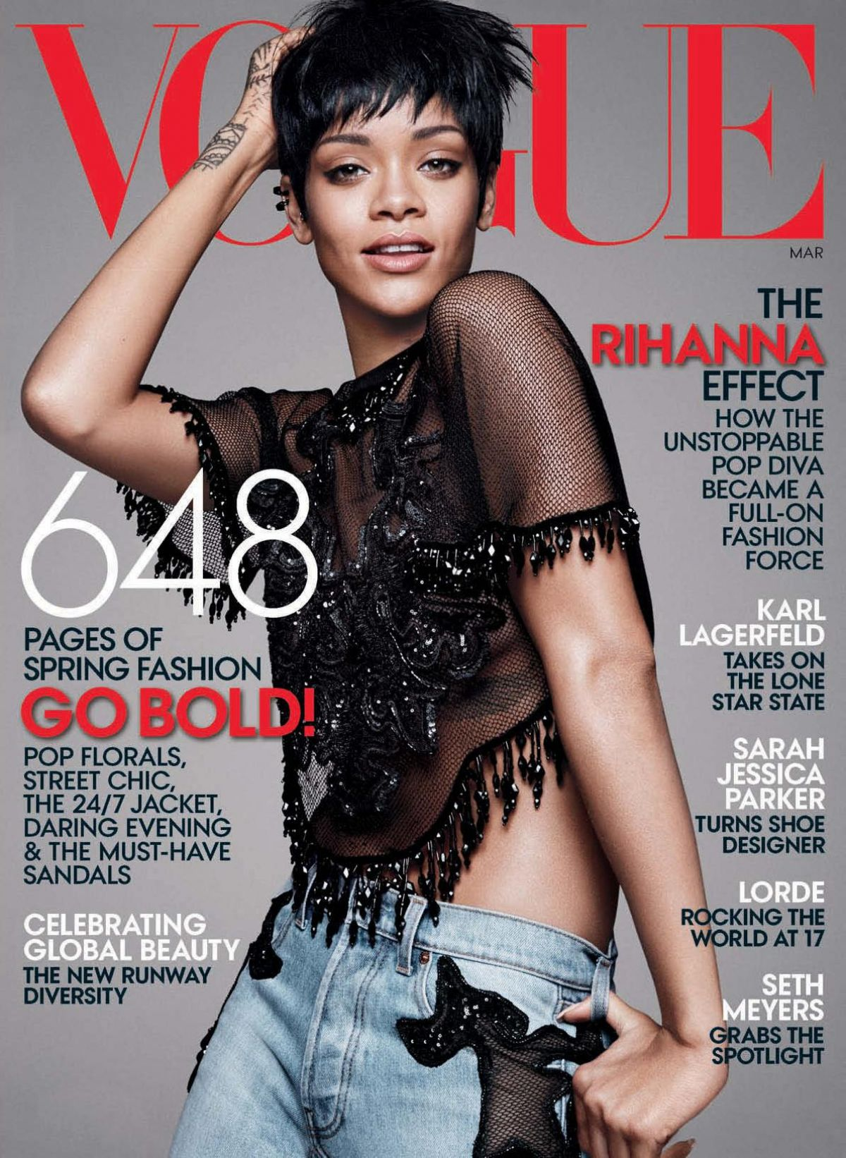 rihanna in vogue magazine march 2014 hawtcelebs