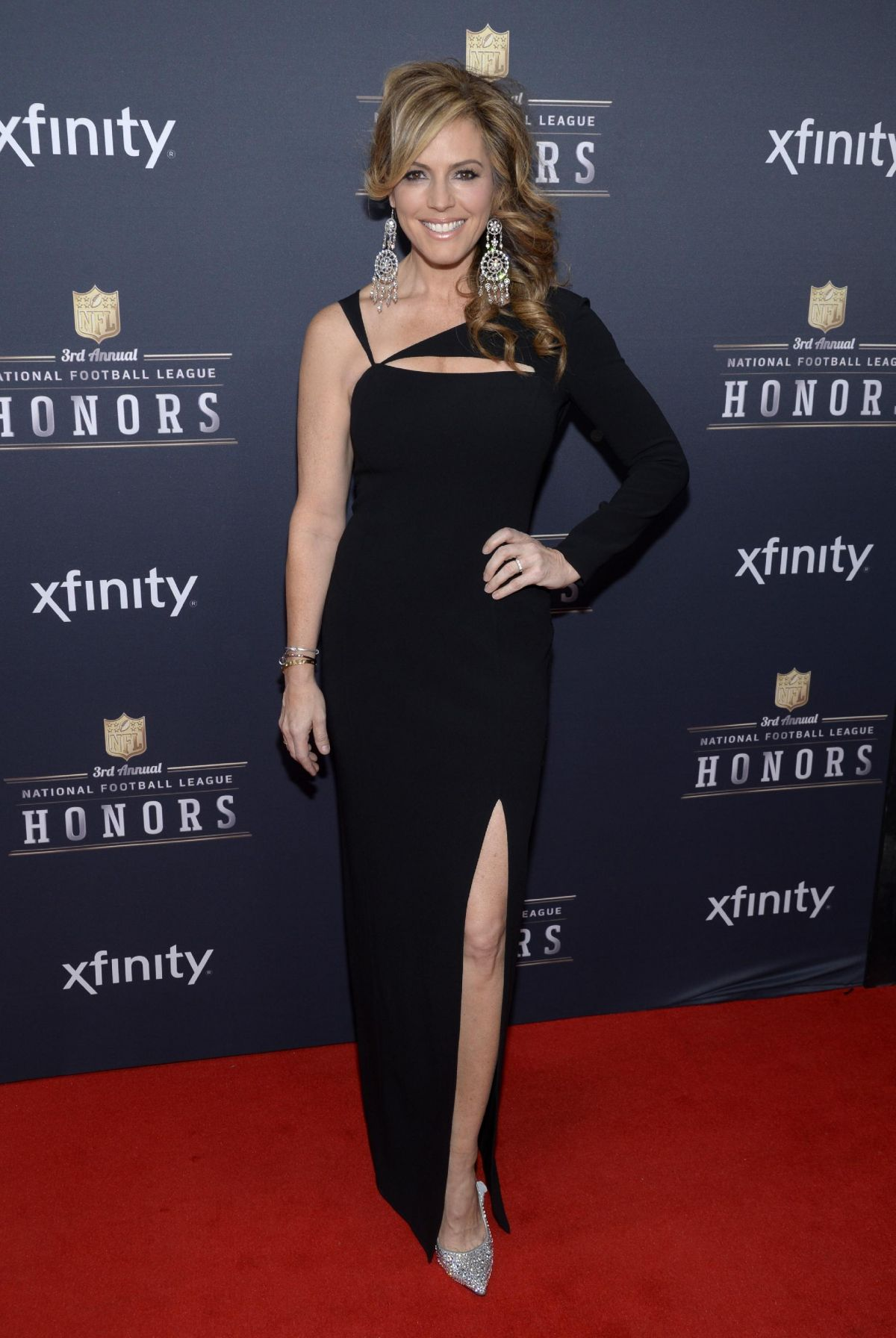 SANDRA TAYLOR at 3rd Annual NFL Honors in New York