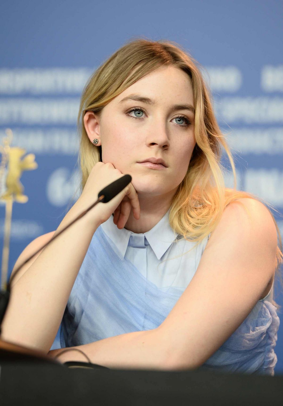 Saoirse Ronan At The Grand Budapest Hotel Press Conference