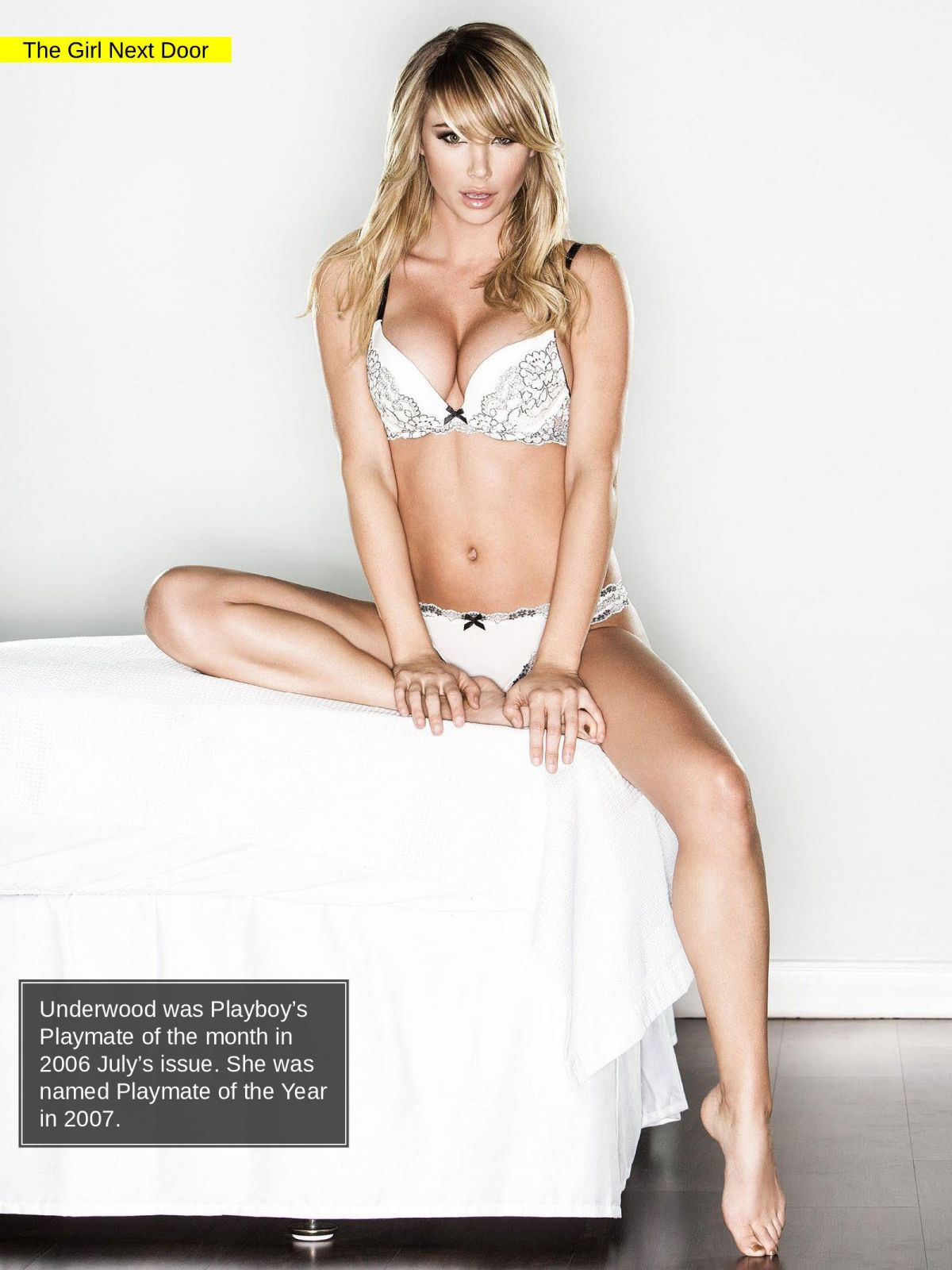 SARA JEAN UNDERWOOD in Manic Magazine, February 2014 Issue