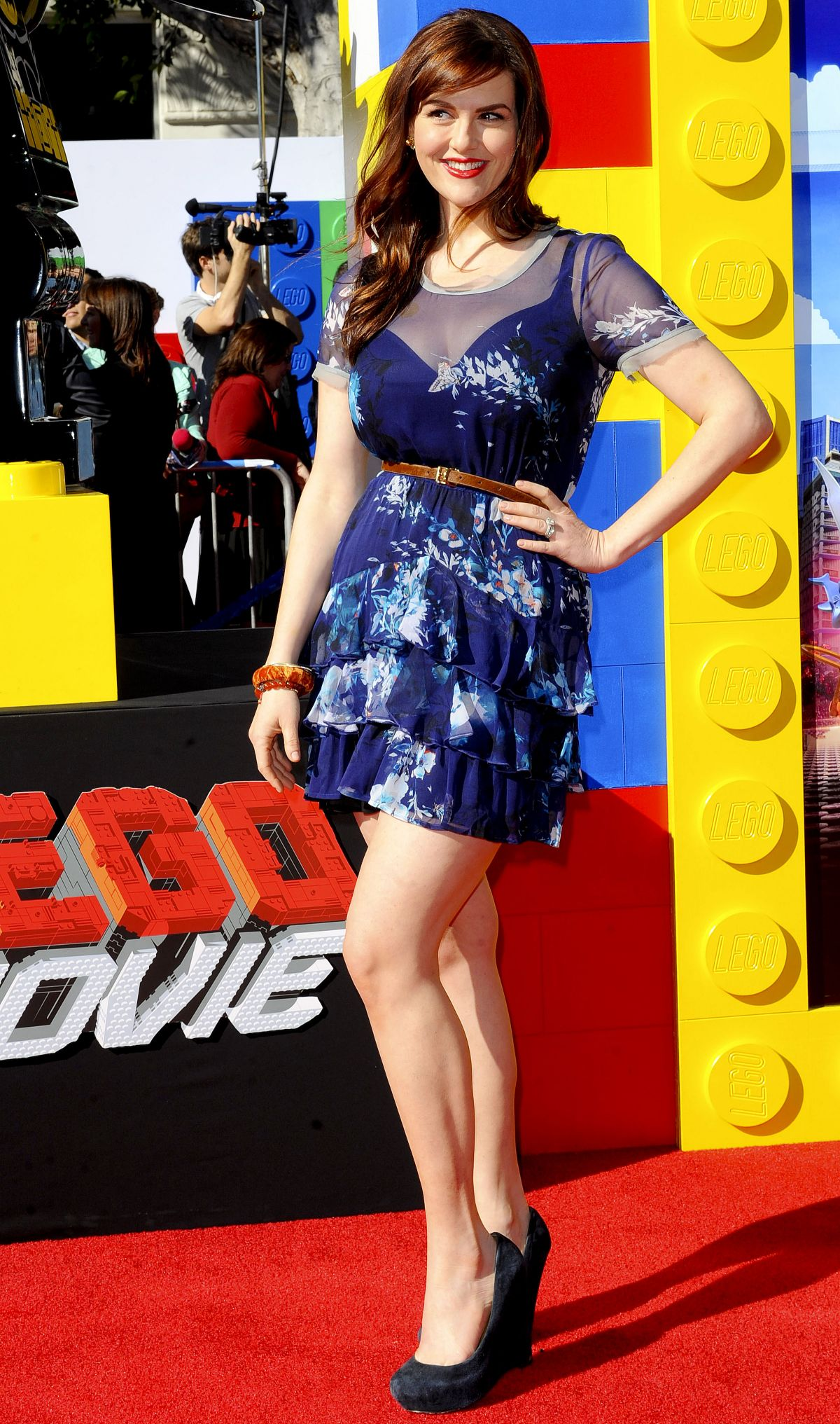 SARA RUE at The Lego Movie Premiere in Los Angeles