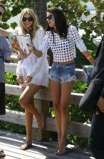 SARA SAMPAIO and GIG HADID at a Photoshoot in Miami