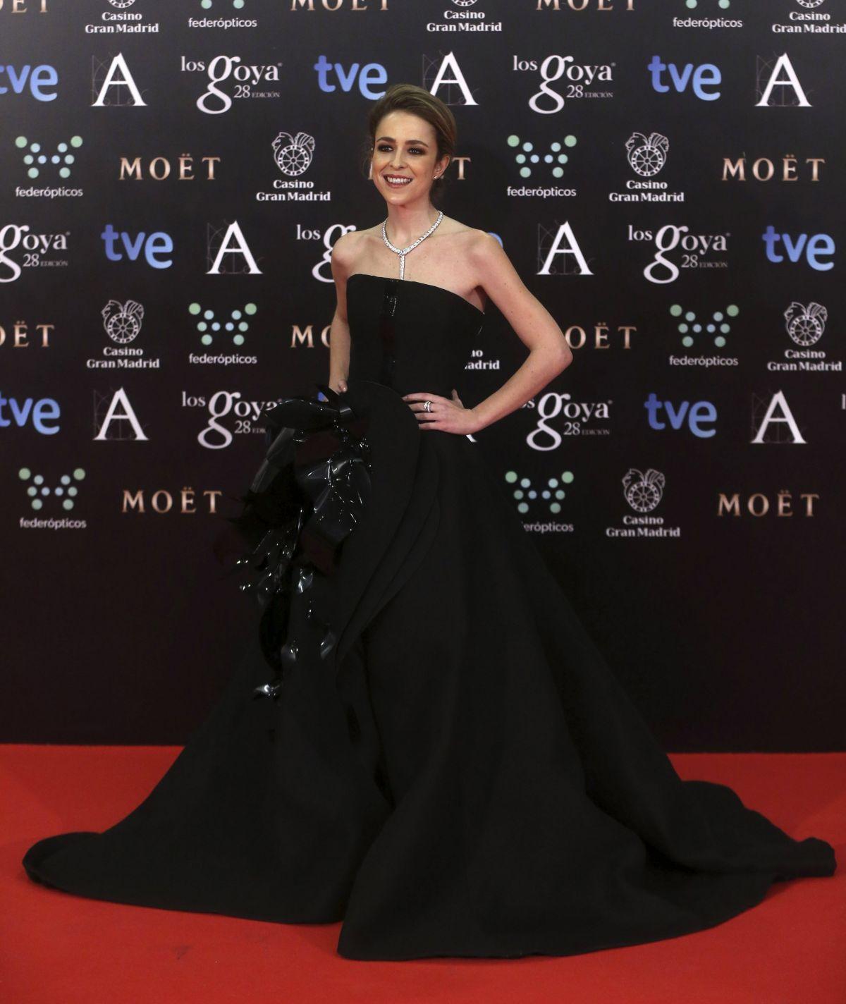 SILVIA ABASCAL at 2014 Goya Film Awards in Madrid