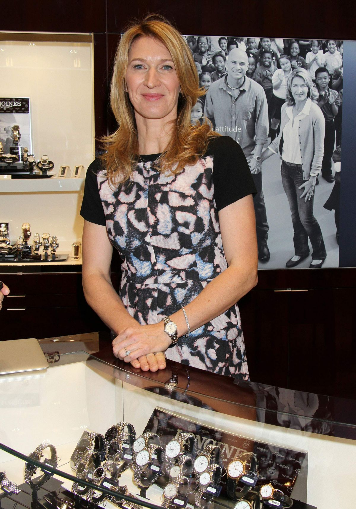STEFFI GRAF at Hour passion Boutique Opening in Las Vegas