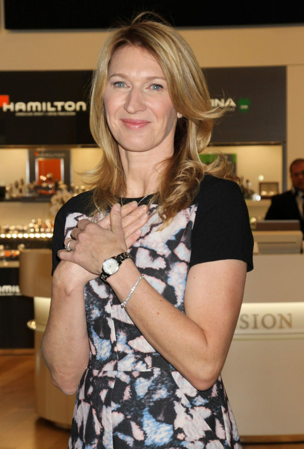 Images Steffi Graf Complete steffi graf at hour passion boutique opening in las vegas