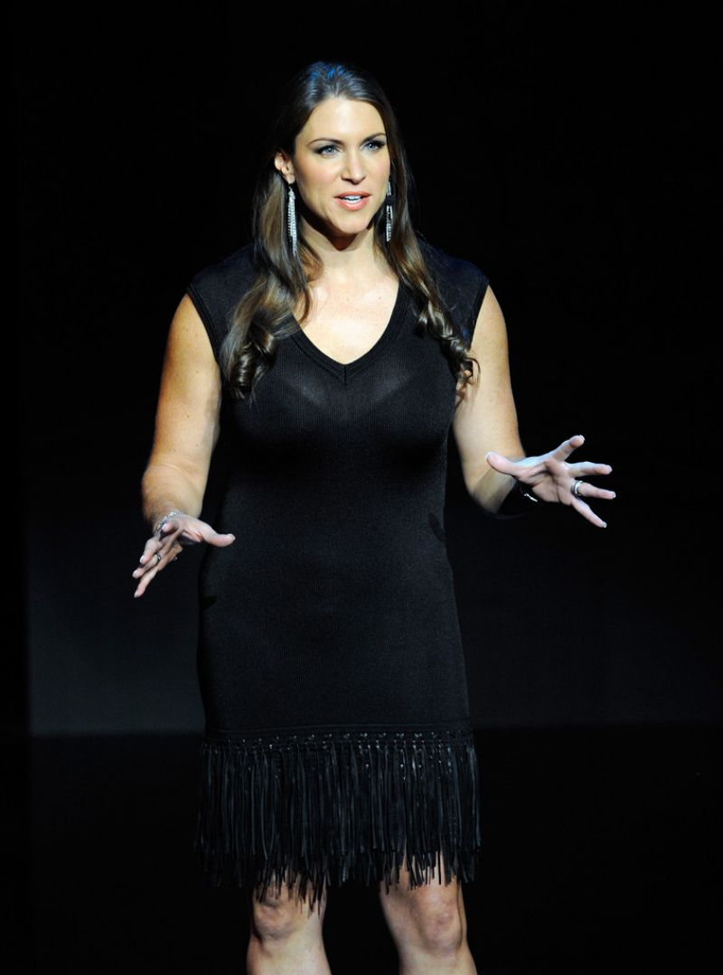 STEPHANIE MCMAHON at the International CES in Las Vegas