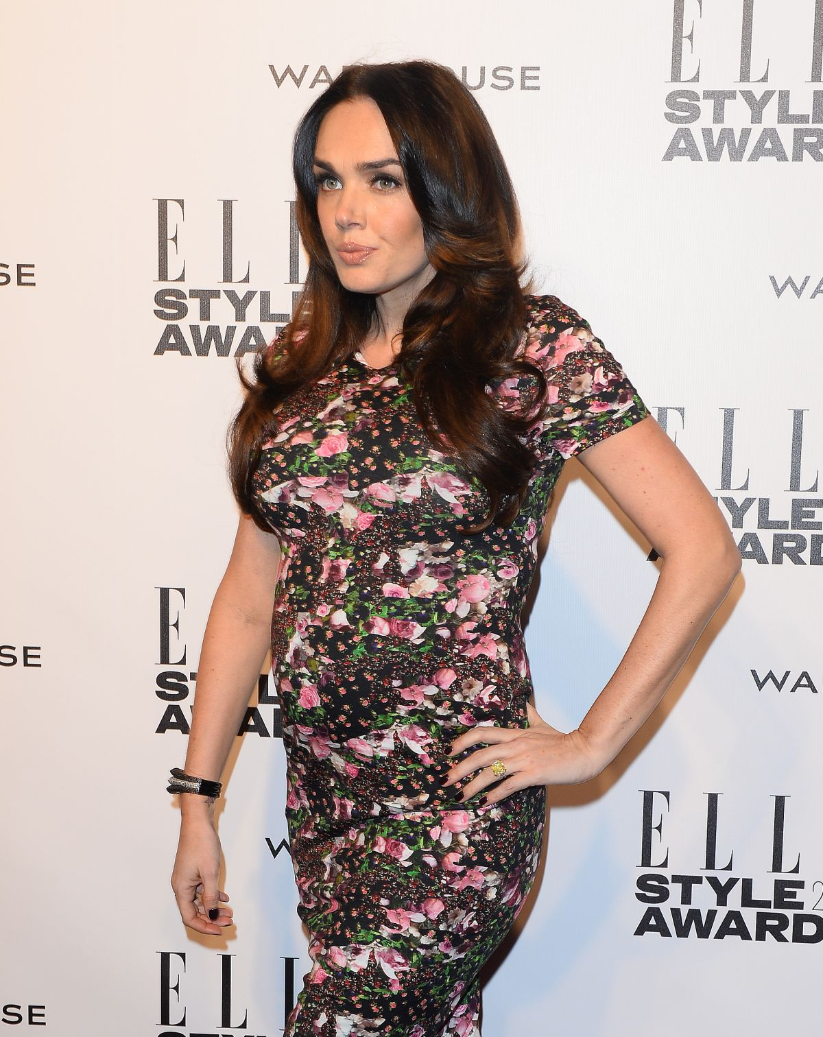 TAMARA ECCLESTONE at 2014 Elle Style Awards in London