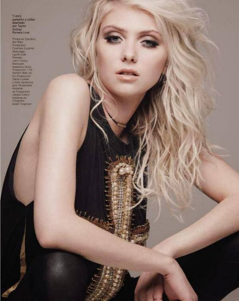 TAYLOR MOMSEN in Grazia Magazine, Mexico February 2014 Issue ... Taylor Momsen
