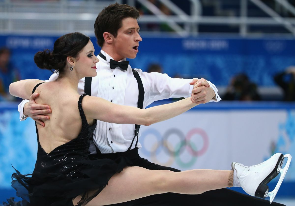 Dating for sex: ice dancing olympics 2014 virtue and moir are dating