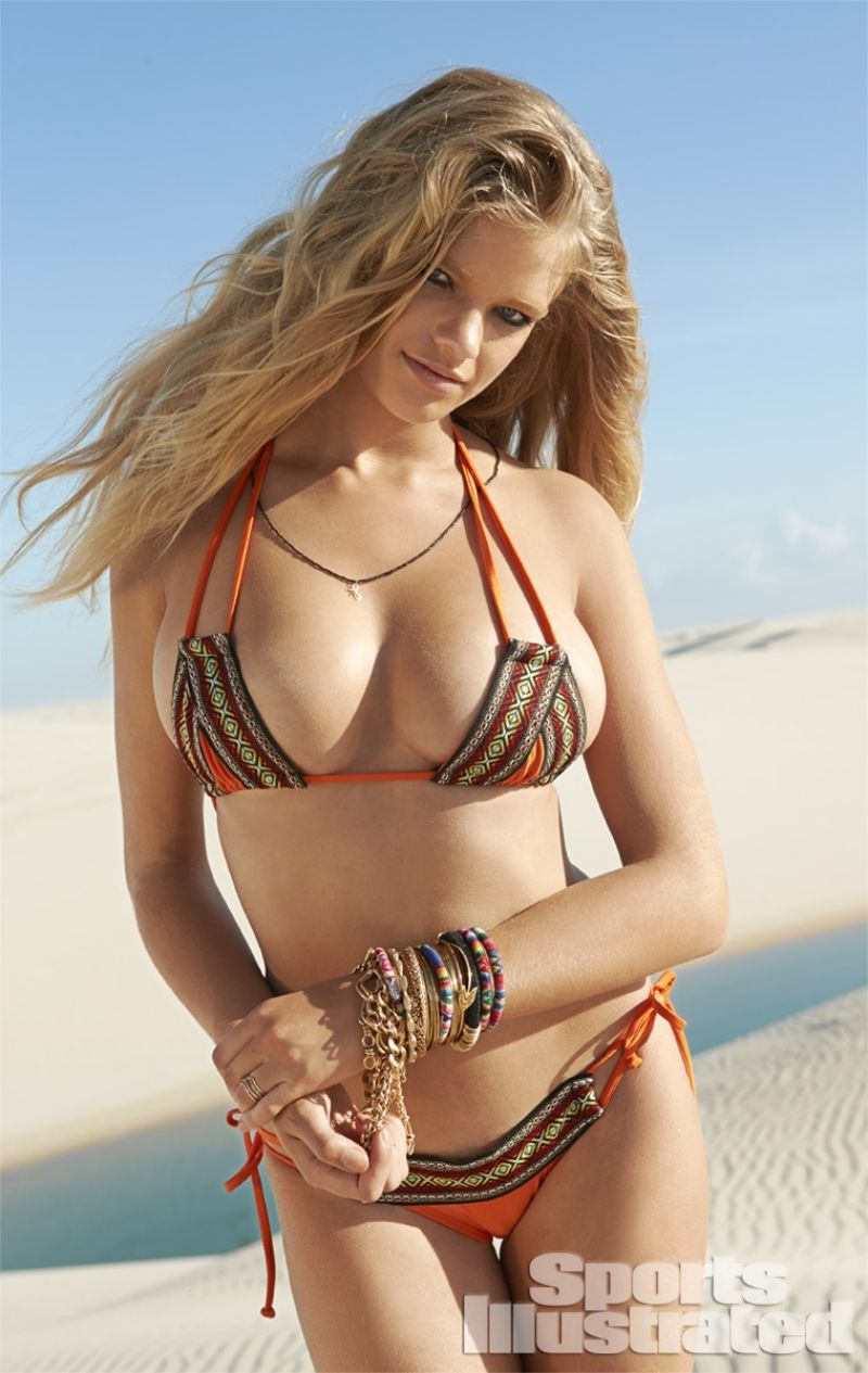 VALERIE VAN DER GRAAF in Sports Illustrated 2014 Swimsuit Issue