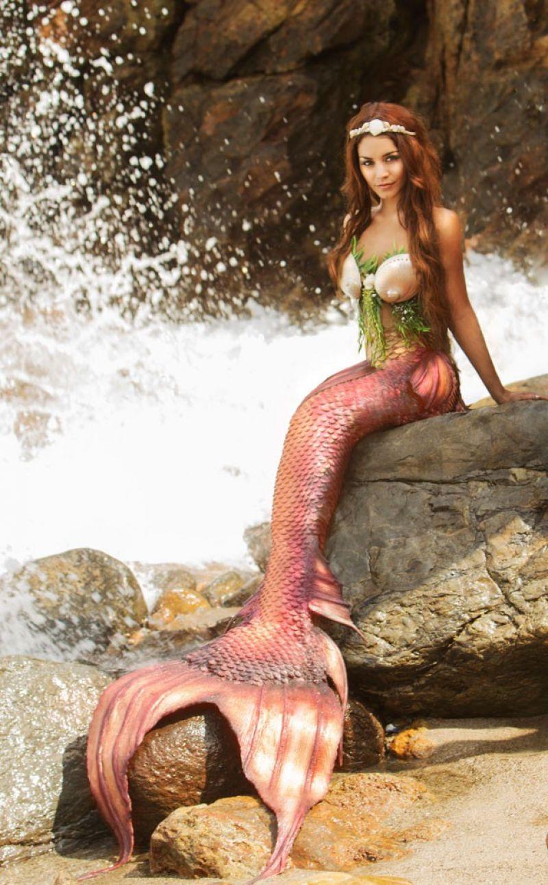 VANESSA HUDGENS - Angelina Venturella Photoshoot for Project Mermaids