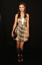 VICTORIA JUSTICE at Rebecca Minkoff Spring 2014 Fashion Show in New York
