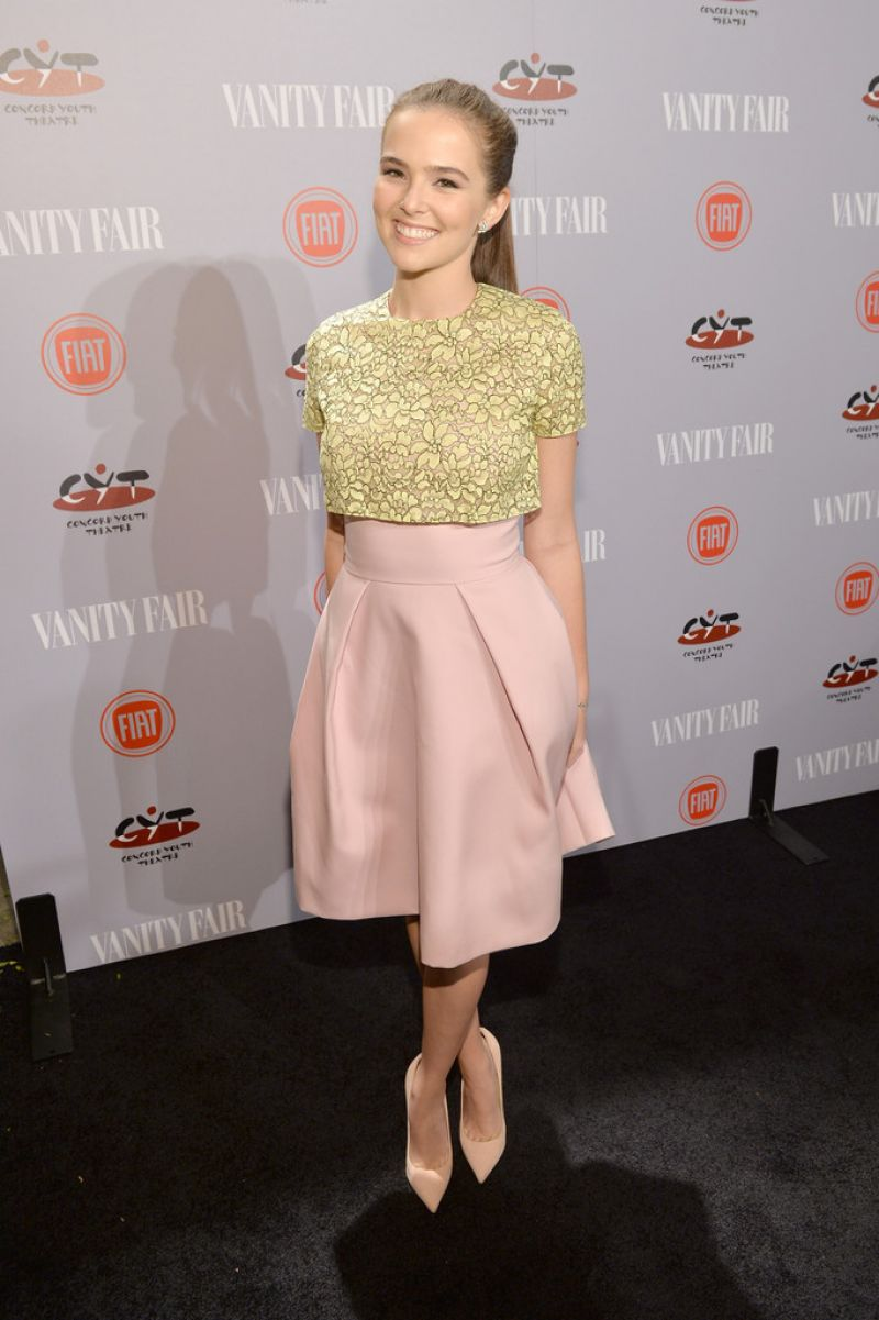 ZOEY DEUTCH at Vanity Fair and Fiat Young Hollywood Party in Los Angeles