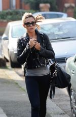 ABBEY CLANCY in Tights Out in North London