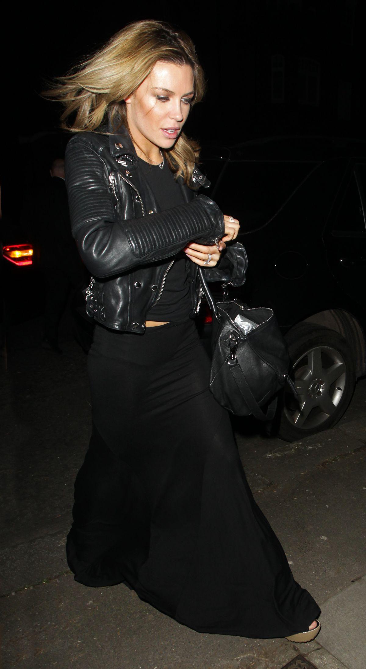 ABBEY CLANCY Leaves ITV Studios in London