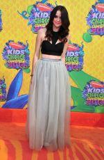 ACACIA BRINLEY at 2014 Nickelodeon's Kids' Choice Awards in Los Angeles
