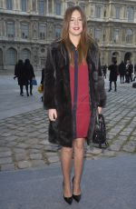 ADELE EXARCOPOULOS at Louis Vuitton Fall/Winter 2014/2015 Fashion Show in Paris