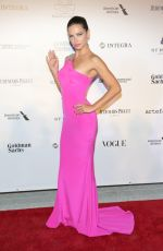 ADRIANA LIMA at 3rd Annual Brazilfoundation Gala in Miami