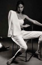 ADRIANA LIMA in Interview Magazine, Germany April 2014 Isssue