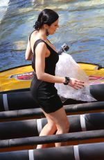 ADRIANNE CURRY at Universal Studios in Hollywood