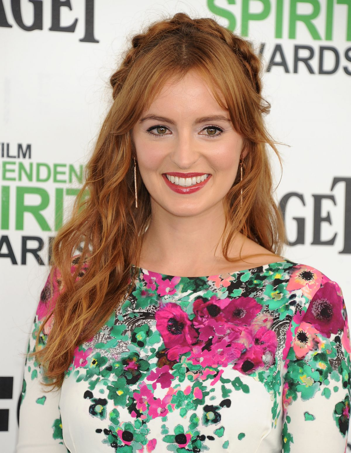 AHNA O'REILLY at 2014 Film Independent Spirit Awards in Santa Monica