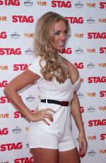 AISLEYNE HORGAN-WALLACE at Stag Screening at Vue Leicester Square in London