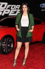 ALANA MASTERSON at Need for Speed Premiere in Hollywood