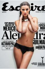 ALEJANDRA GUILMANT in Esquire Magazine, Mexico March 2014 Issue