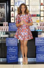 ALESHA DIXON at Her Alesha Rose Quartz Perfume Launch Photocall at Westfield Shopping Centre in London