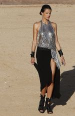 ALESSANDRA AMBROSIO at a Photoshoot in Lancaster