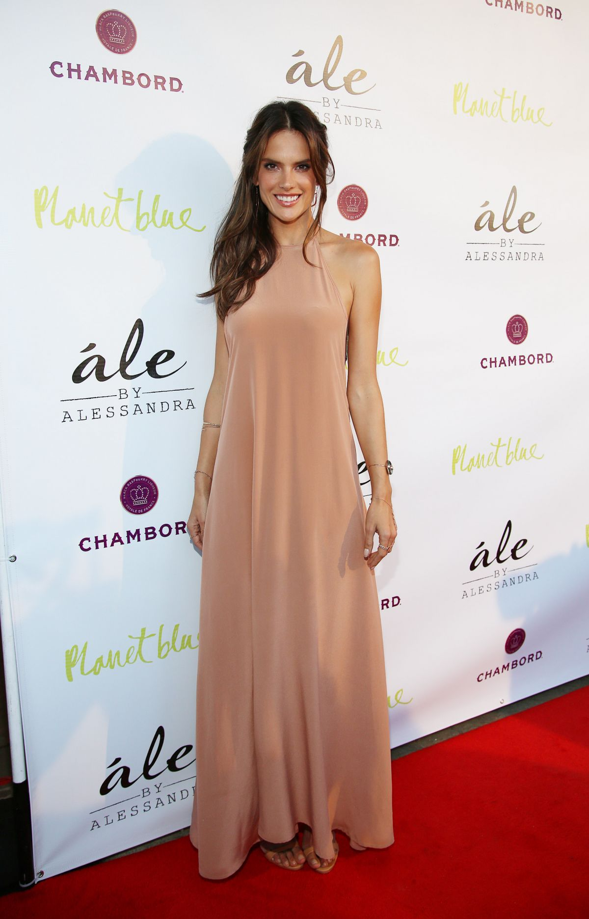ALESSANDRA AMBROSIO at Ale by Alessandra Collection Launch in Los Angeles