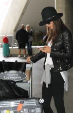 ALESSANDRA AMBROSIO at LAX Airport