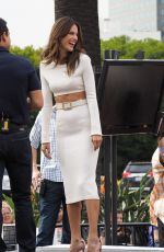 ALESSANDRA AMBROSIO on the Set of Extra in Los Angeles