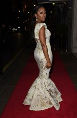 ALEXANDRA BURKE at VIP Fundraising Dinner in Aid of Helping Hands in London