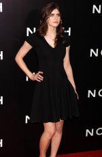 ALEXANDRA DADDARIO at Noah Premiere in New York