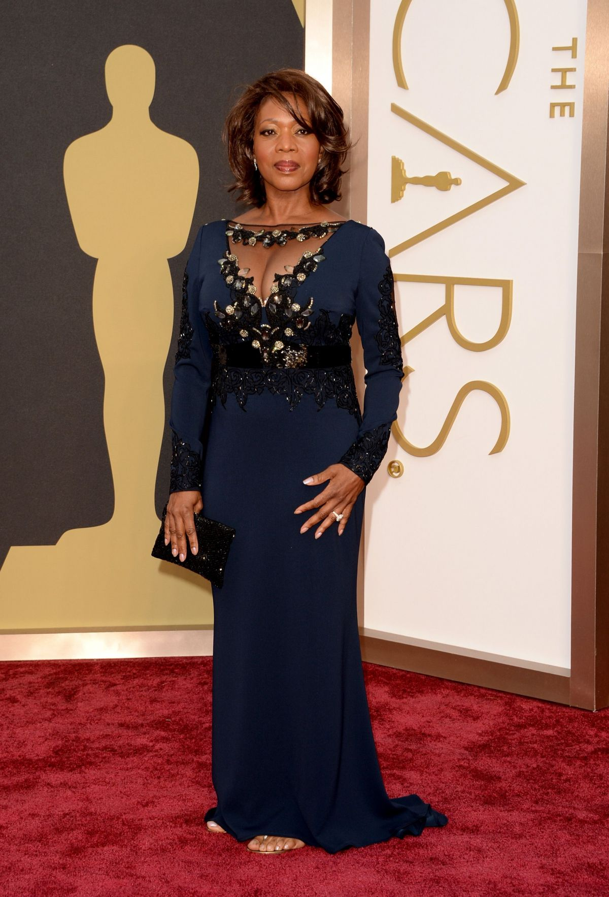 ALFRE WOODARD at 86th Annual Academy Awards in Hollywood