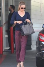 ALI LARTER at a Gas Station in Los Angeles