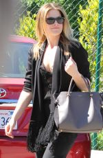 ALI LARTER Out Shopping in Beverly Hills