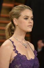 ALICE EVE at Vanity Fair Oscar Party in Hollywood