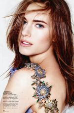 ALLISON WILLIAMS in  Glamour Magazine, March 2014 Issue