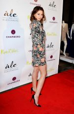ALY MICHALKA at Ale by Alessandra Collection Launch in Los Angeles