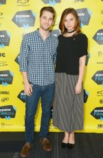 ALY MICHALKA at Sequoia Press Conference at SXSW in Austin