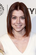 ALYSON HANNIGAN at How I Met Your Mother Farewell in Hollywood