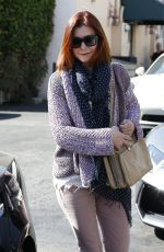 ALYSON HANNIGAN Out in Beverly Hills