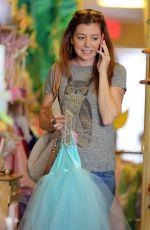 ALYSON HANNIGAN Shops for Princess Dresses in Los Angeles