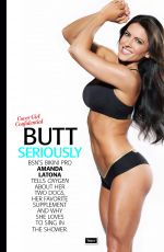 AMANDA LATONA in Oxygen Magazine, April 2014 Issue