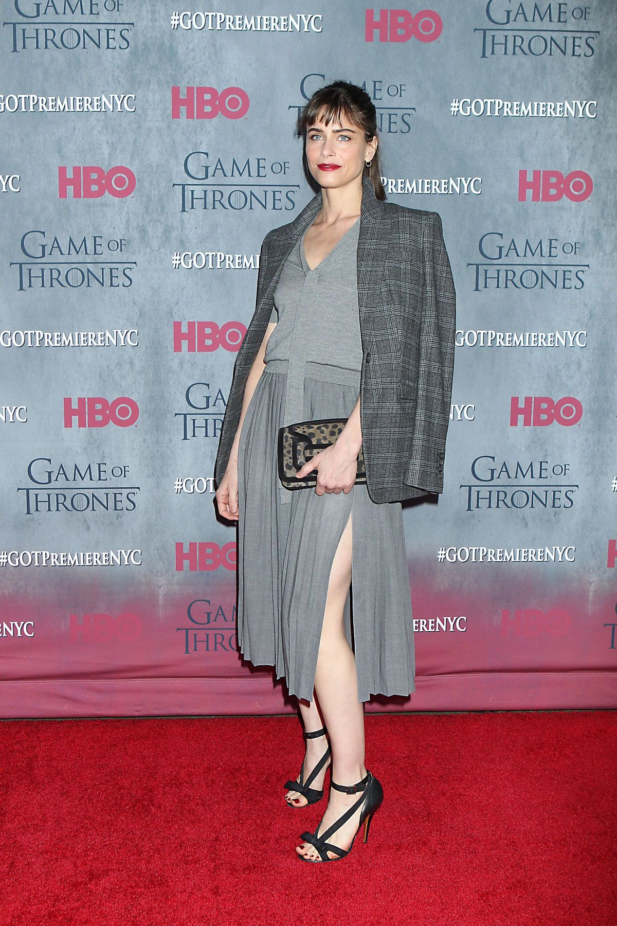 AMANDA PEET at Game of Thrones Fourth Season Premiere in New York